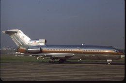 SLIDE / AVION / AIRCRAFT   KODAK  ORIGINAL     B 727 VIP  N727HC - Diapositives