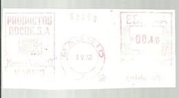 FRANQUEO MECANICO  1962   MASRID  FRAGMENTO 6X15 - Marcofilia - EMA ( Maquina De Huellas A Franquear)