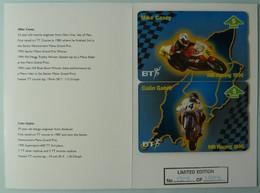 UK - BT - BTG725/726 - Martin Bullock Racing - Mike Casey & Colin Gable - Limited Edition - Mint In Folder - Royaume-Uni