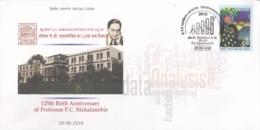 India  2018  Professor  P.C. Mahalanobis  Statistical Education  Special Cover   # 16073  D  Inde Indien - India