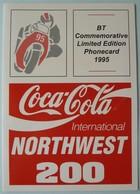 UK - BT - BTG506 -1995 - Coca Cola Int Northwest 200 - Robert Dunlop Winner - 505C - Limited Edition - Mint In Folder - BT General Issues
