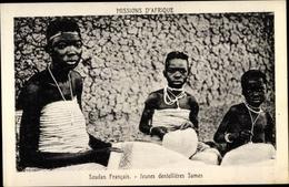 Cp Mali, Jeunes Dentellieres Samos, Mädchen Beim Klöppeln - Südafrika