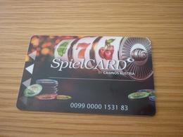 Austria Casino Spielcard Slot Card - Cartes De Casino