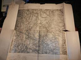 8d) TOSCANA PISTOIA VILLABASILICA CARTA D'ITALIA FOGLIO 105 ISTITUTO GEOGRAFICO ITALIANO 1896 SEGNI D'USO PAGINE CON STR - Carte Geographique