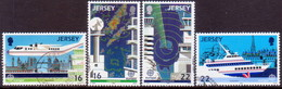 JERSEY 1988 SG #443-46 Compl.set Used Europa. Transport - Jersey