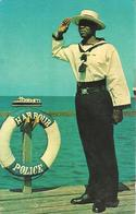 L 375 - Barbade- The Harbour Police Bridgetown - Cartes Postales