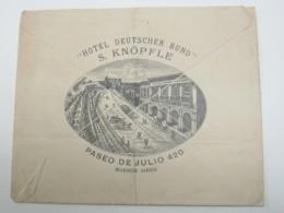 ARGENTINA , Carta  Buenos Aires  1899 - Entiers Postaux