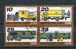 DDR Nr.2299/2302 Viererblock           O  Used       (21715) ( Jahr: 1978 ) - DDR