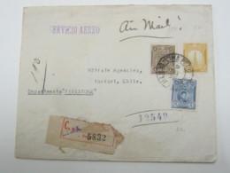 PERU , 1930 , Carta  A Chile - Peru