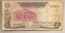 Sudan - Banconota Circolata Da 5 Pounds P-14c - 1980 - Soudan