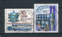DDR Nr.2316/7           O  Used       (21721) ( Jahr: 1978 ) - DDR