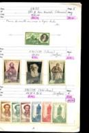 URSS - 1935 / 1960 - 1 Carnet De Circulation - Neufs N** (qq. N* Et Ob.) - Bon état - Cote Ancienne Environ 500 Eur - Russie & URSS