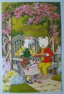 UK - BT - BTG664 - Rupert - Valentine's Surprise - Limited Edition In Folder - 1000ex - Mint In Folder - BT Edición General