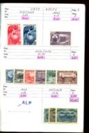URSS - 1949 / 1957 - 1 Carnet De Circulation - Neufs N** (qq. N* Et Ob.) - Très Beaux - Cote Ancienne Environ 330 Eur - Russie & URSS