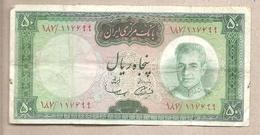 Iran - Banconota Circolata Da 50 Rials P-85a - 1969 - Iran