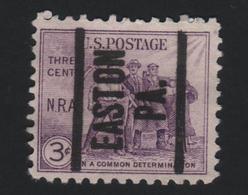 USA 697 SCOTT 732 EASTON PA - Estados Unidos