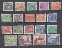 Berlin , Nr 42 -60 Postfrisch ( 750.-.) , 60er , 90er Und Markwerte Geprüft - [5] Berlin