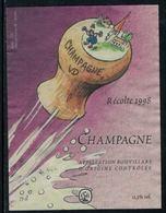 Rare // Etiquette De Vin // Bande Dessinée // Champagne - Fumetti