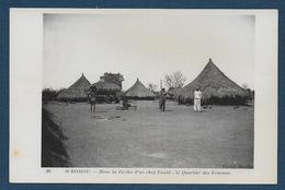 M' BOMOU  - Dans La Zériba D'un Chef Zandé , Le Quartier Des Femmes - Congo Français - Autres
