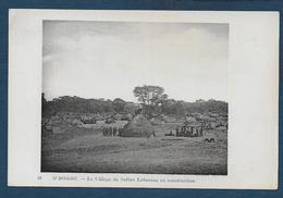 M' BOMOU  - Le Village Du Sultan Labassou En Construction - French Congo - Other