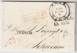 """1827, """" MEMEL """" Und """" RIGA """" , #a1525 - Prussia"""
