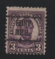 USA 1130 SCOTT 635 FLINT MICH - Estados Unidos