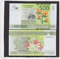Billet De 500 Fr De Polynesie Francaise, Nouvelle Caledonie Et Wallis Et Futuna Neuf ( UNC ) - Nouvelle-Calédonie 1873-1985