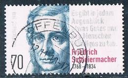 2018  250. Geburtstag Von Friedrich Schleiermacher - [7] République Fédérale