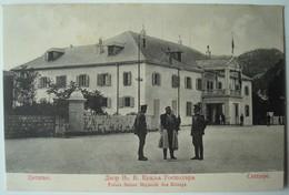 Cettinje. - Palais Seiner Majestät Des Königs. - Ca. 1910. - Montenegro