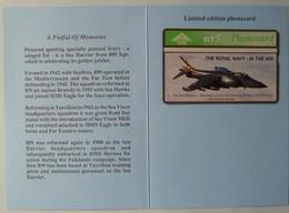 UK - BT - L&G - Royal Navy - BTG141 - A Fistful Of Memories - Sea Harrier - 343K - 600ex - Ltd Edition - Mint In Folder - BT General Issues