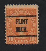USA 1142 SCOTT 642 FLINT MICH - Estados Unidos