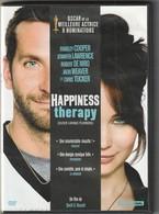 Dvd  HAPPINESS THERAPIE Avec Jennifer Laurence  Etat: TTB Port 110 Gr Ou 30 Gr - Comédie