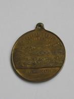 Médaille INNSBRUCK 1885 - II Oster Bundes Schiessen - Ub Aug Und Hand Fûrrs Vaterland   **** EN ACHAT IMMEDIAT **** - Professionnels/De Société