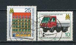 DDR Nr.2353/4           O  Used       (21730) ( Jahr: 1978 ) - DDR