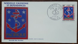 Nouvelle-Calédonie - FDC 1984 - YT Aérien N°244 - Journée Des Armées - FDC