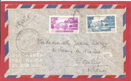 Y&T N°62+ BEYROUTH  Vers FRANCE  1953 - Liban