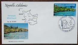 Nouvelle-Calédonie - FDC 1991 - YT Aérien N°277 - Paysages / Vue De Mare - FDC