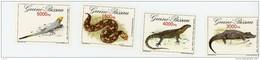 Guinée Bisssau 1993-Serpent,couleuvre,- YT 632/5***MNH - Guinée-Bissau
