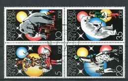 DDR Nr.2364/7 Viererblock          O  Used       (21734) ( Jahr: 1978 ) - DDR