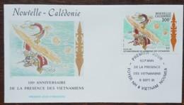 Nouvelle-Calédonie - FDC 1991 - YT N°620 - Présence Des Vietnamiens - FDC