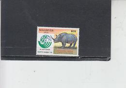 MALDIVE -  Fauna - Rinoceronte - Rinoceronti