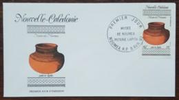 Nouvelle-Calédonie - FDC 1992 - YT Aérien N°281 - Musée De Nouméa / Poterie Lapita - FDC