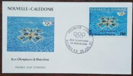 Nouvelle-Calédonie - FDC 1992 - YT Aérien N°286 - Jeux Olympiques De Barcelone - FDC