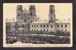BY-80 EINZUG DER DEUTSCHEN TRUPPEN IN MINSK KATHOLISCHE KATHEDRALE - Belarus