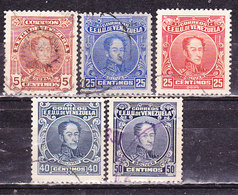 Venezuela-1924- Bolivar  - Usati - Venezuela