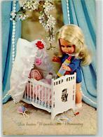 39175454 - Wehncke Puppen Babywiege  Namenstag - Jeux Et Jouets