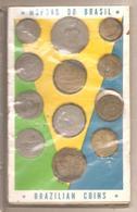 Brasile - 15 Monete Differenti Anni '20/'30/'40/'50 - Souvenir Sheet - Brésil