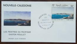Nouvelle-Calédonie - FDC 1993 - YT Aérien N°296 - Peintres Du Pacifique / Gaston Roullet - FDC