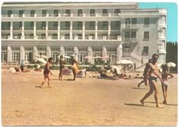 "AL - Durrës - Hoteli Turistik ""Adriatik"" - Touristic Hotel - L'Hôtel Touristqiue - Touristen-Hotel - Albania"