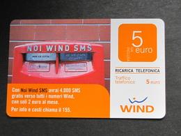 ITALIA WIND - NOI WIND SMS - 30/06/2011 USATA - Schede GSM, Prepagate & Ricariche